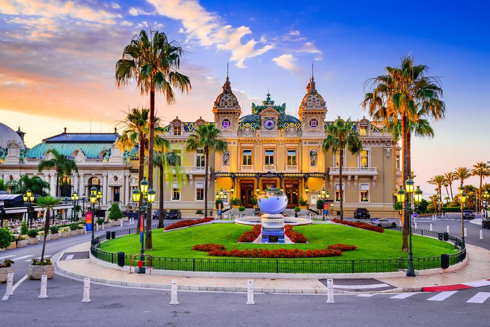 The famous Casino de Monte-Carlo