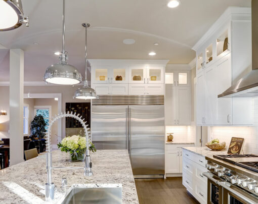 bigstock-White-Kitchen-Design-In-New-Lu-165492398