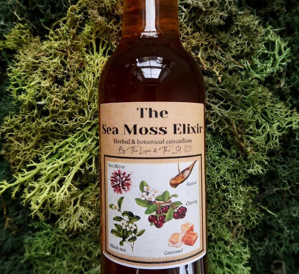 The Sea Moss Elixir