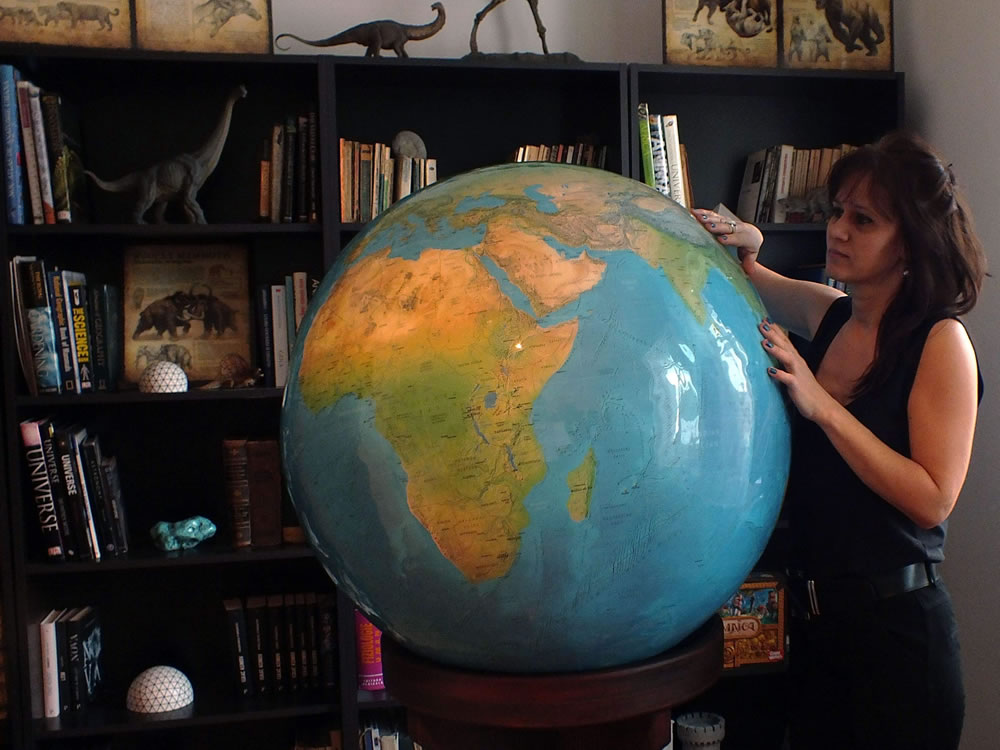 Large World Globes