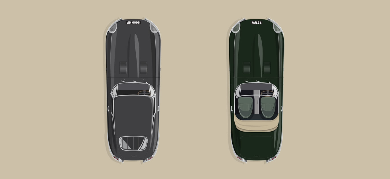 The E-type 60 Collection from Jaguar