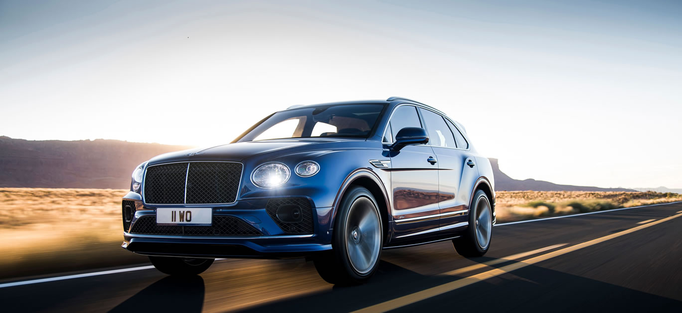 New Bentayga Speed SUV