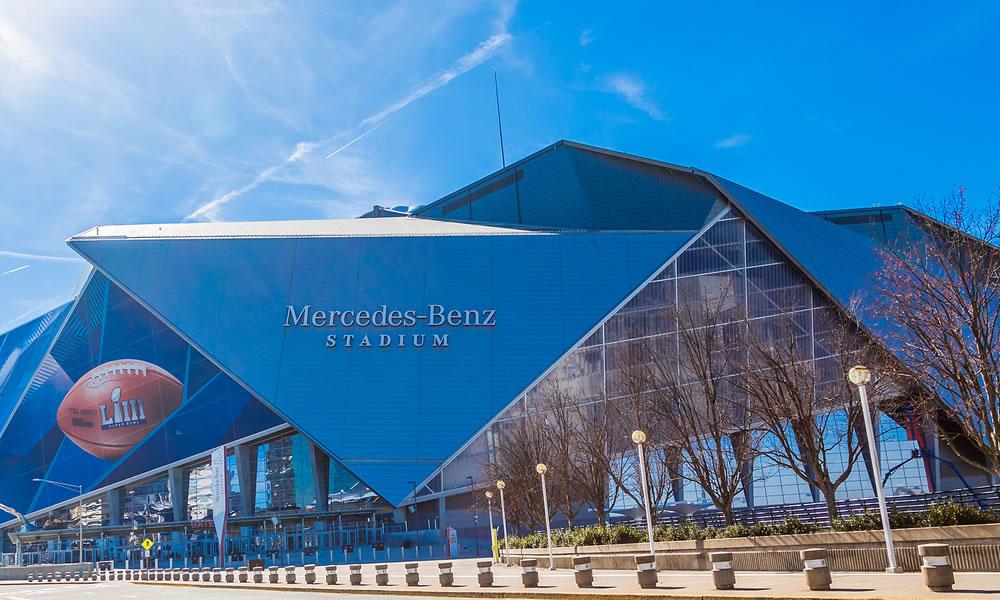 Atlantas Mercedes-Benz Stadium