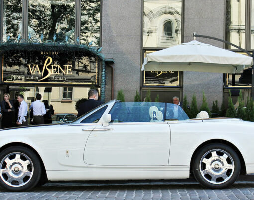Rolls-Royce Phantom Drophead Coupe.