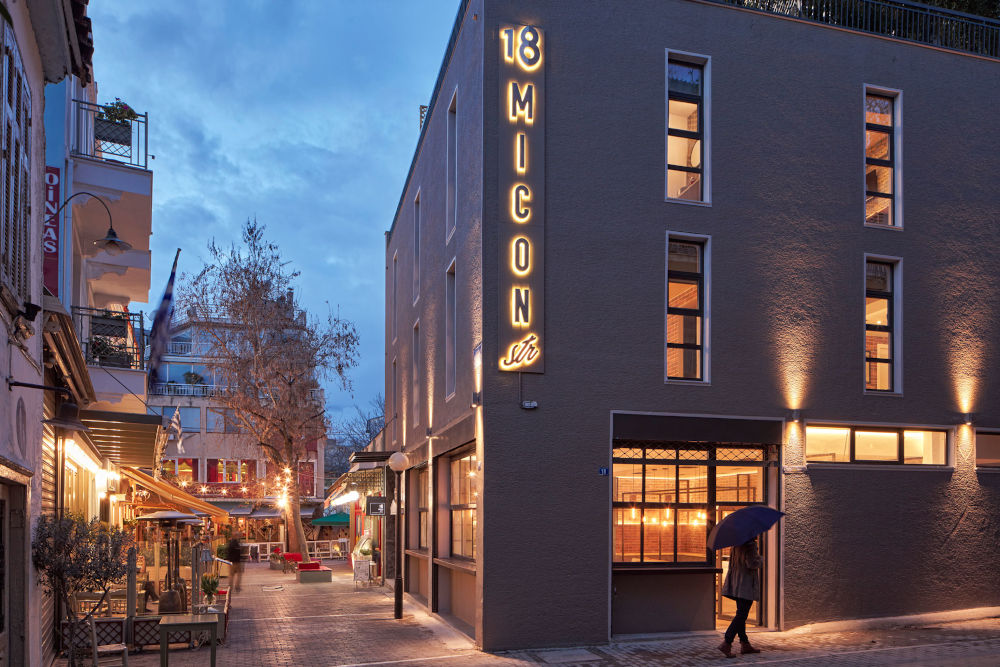 Hotel Review: 18 Micon Str, Athens in Greece