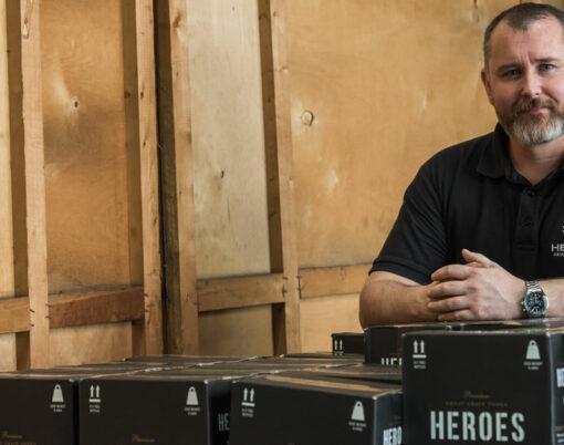Chris Gillan, managing director of Heroes Drinks Company
