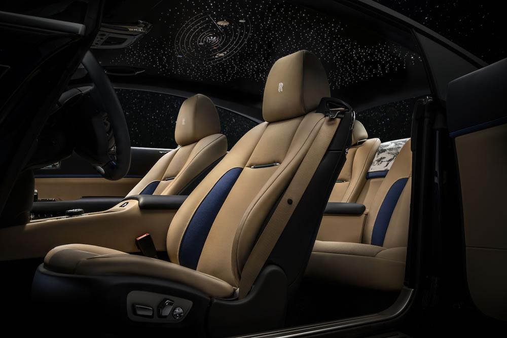Earth Inspired Rolls Royce Wraith