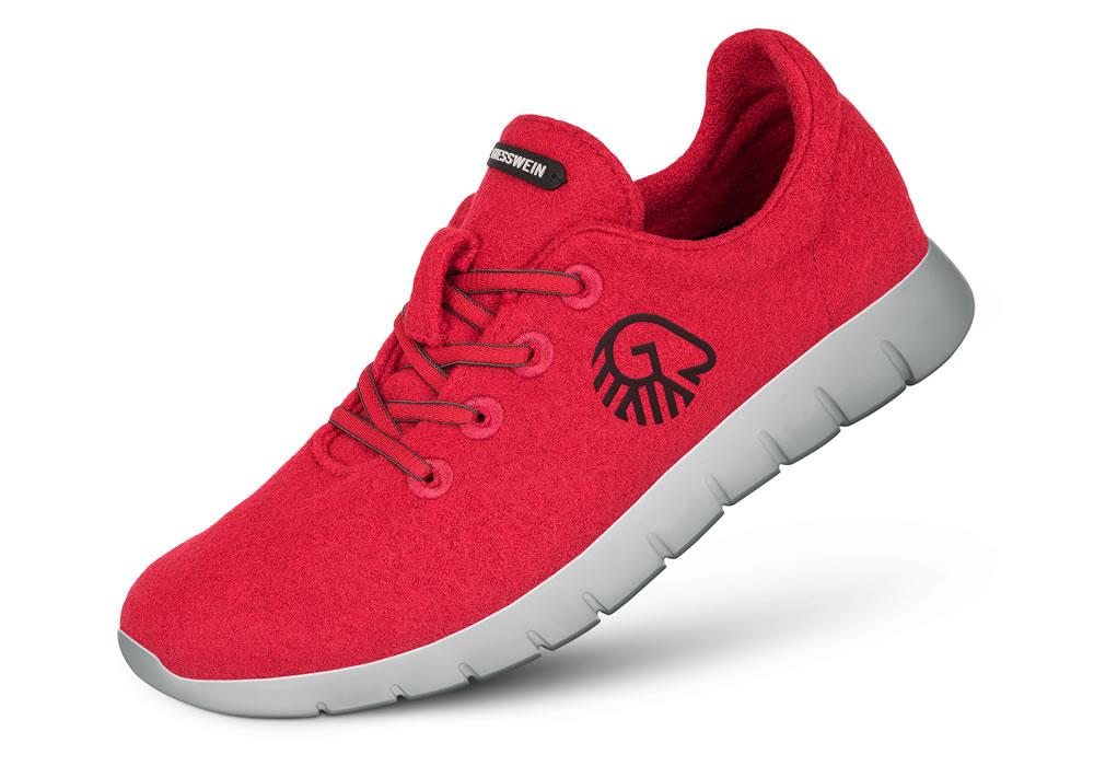 Merino Runners, Coral, £116
