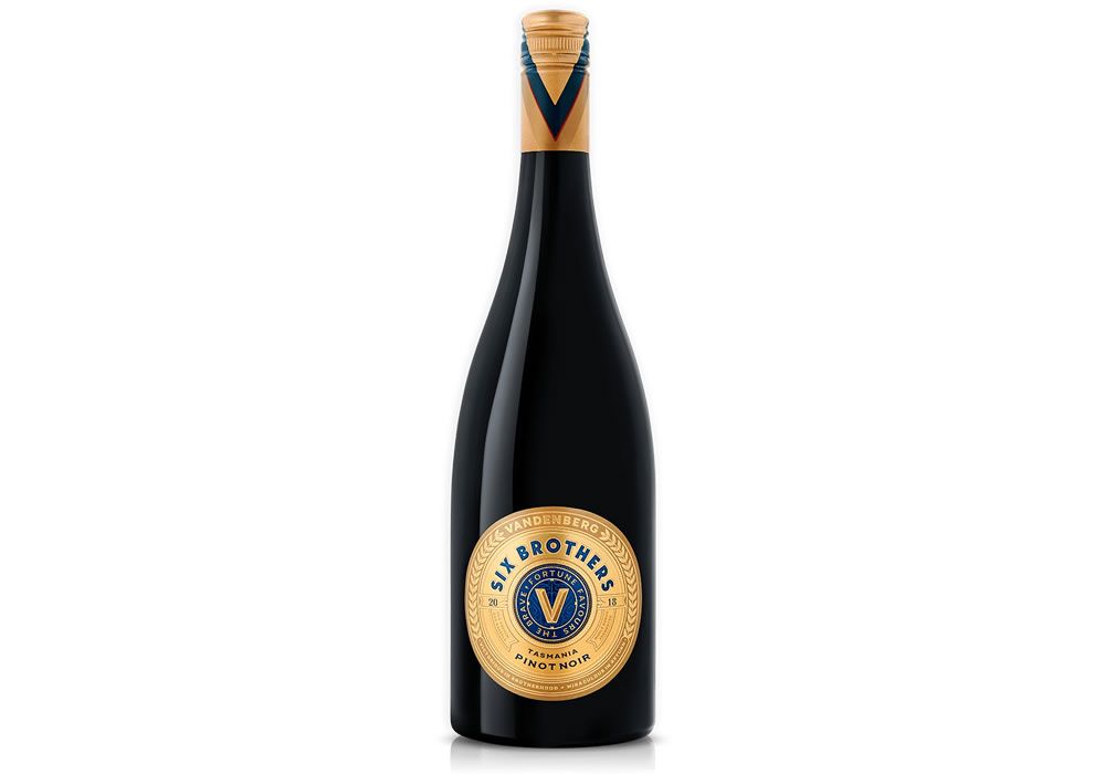 Six Brothers Tasmanian Pinot Noir 2018