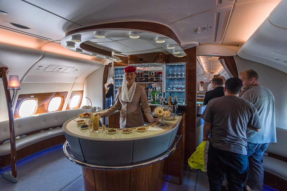 first class plane
