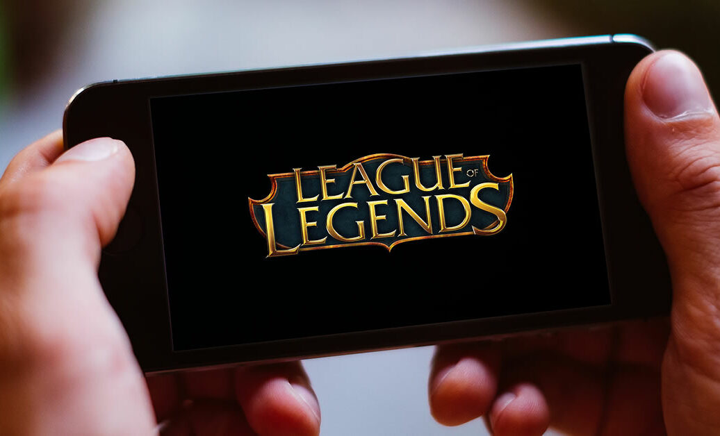 LEAGUE OF LEGENDS GAME LOGO and ICON