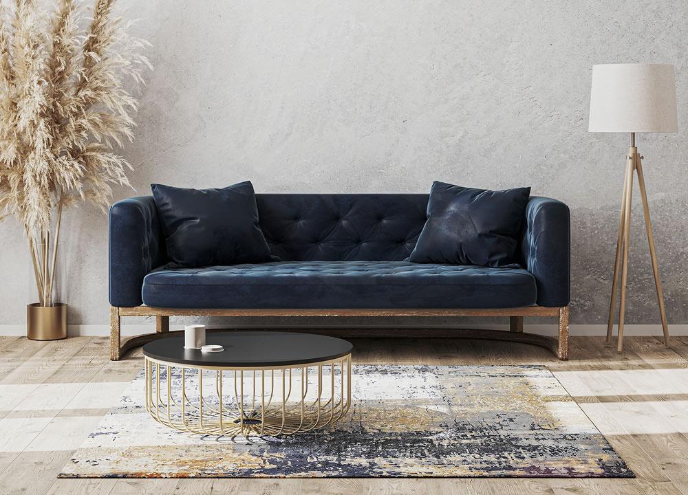 sofa living room rug