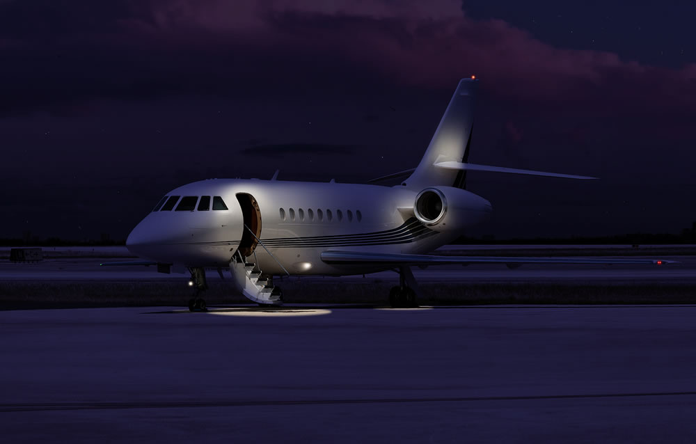 bigstock-Private-jet-sitting-at-the-tar-103674791