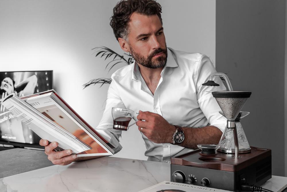 Barisieur coffee Machine Alarm Clock