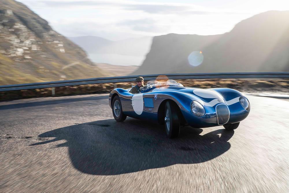 Ecurie Ecosse unveils Jaguar C-Type