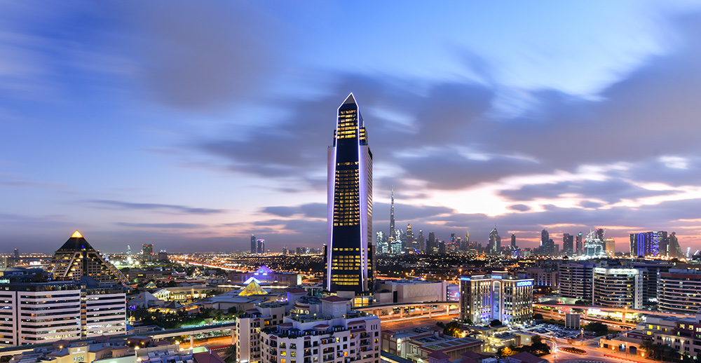Hotel Sofitel, located in Dubai