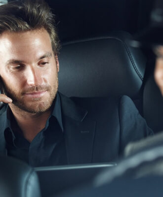 professional chauffeur
