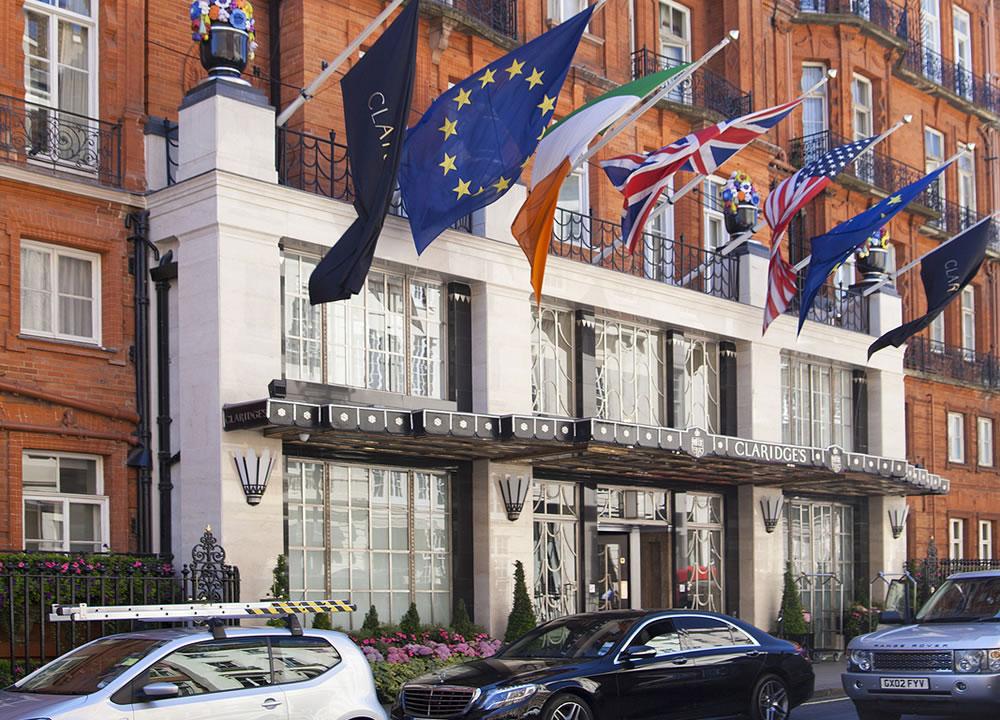 Claridge's in London's Mayfair