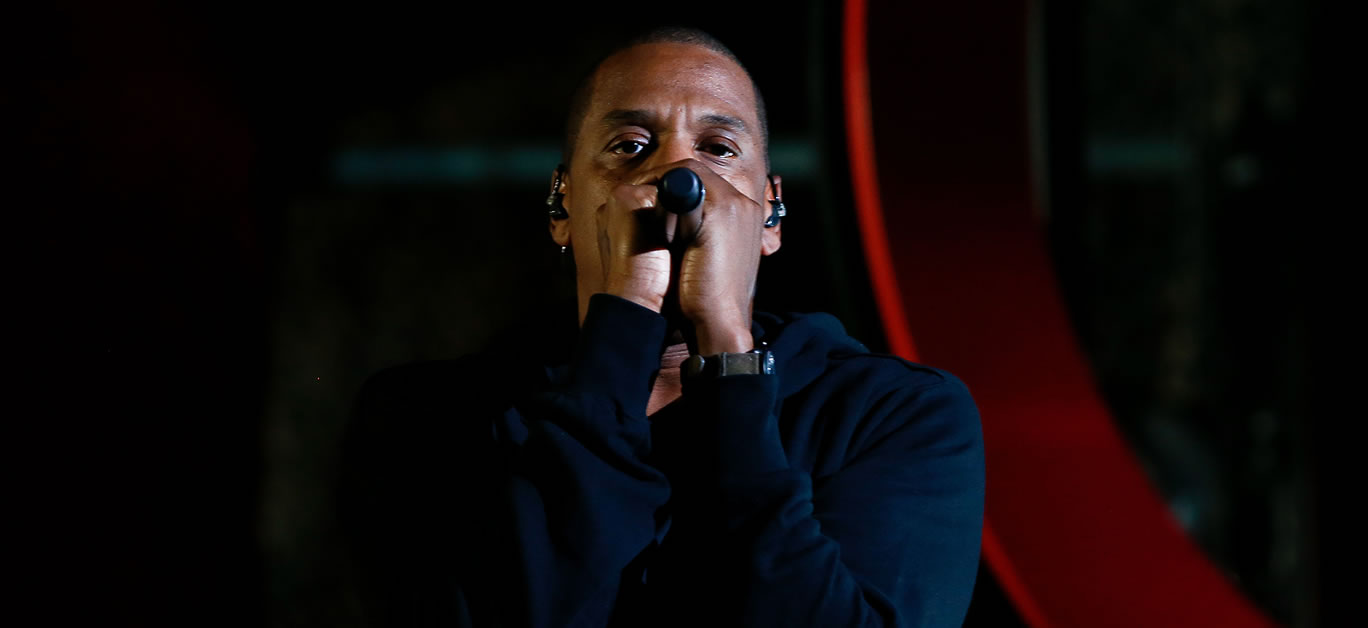 Rapper Jay-Z performs onstage at the 2014 Global Citizen Festival
