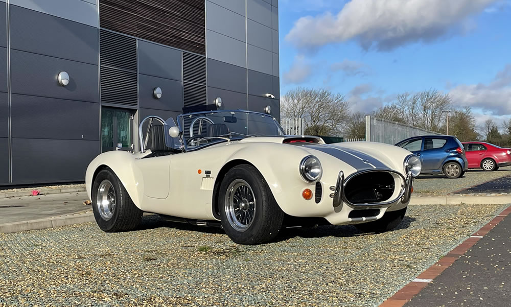 New AC Cobra 378 Superblower