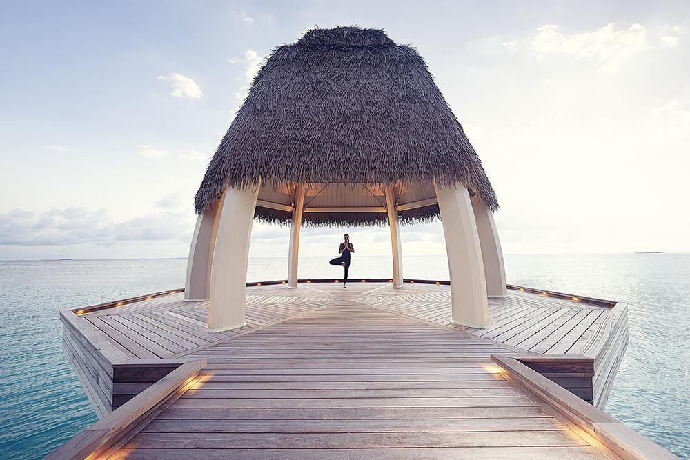 Ithaafushi The Private Island-Spa and Wellness Yoga Pavillion