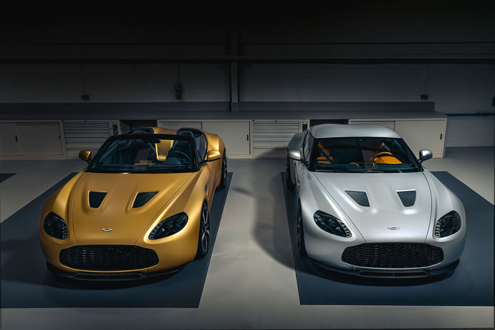 Aston Martin Vantage V12 Zagato Heritage TWINS revealed