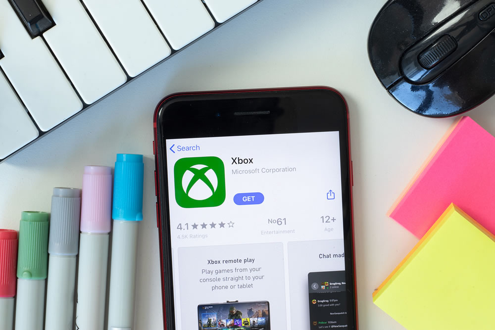 xbox app mobile phone