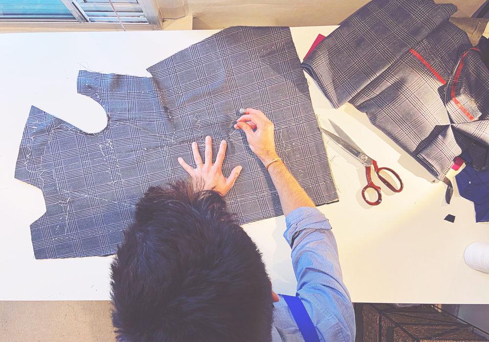Creating measurements on fabric