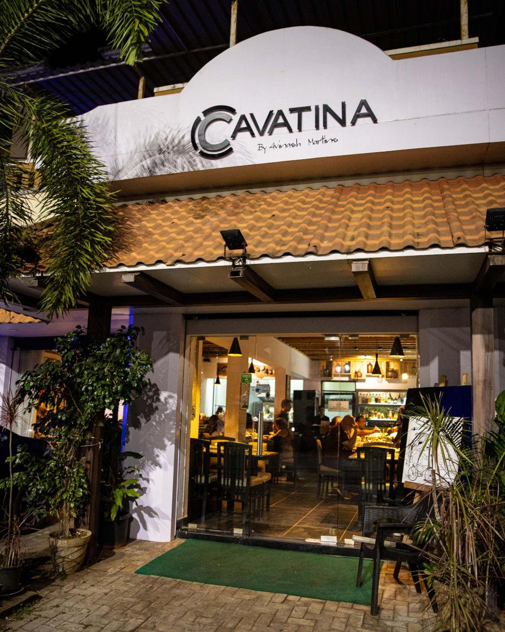 Entrance at Cavatina in Goa