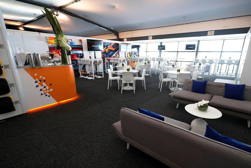 McLaren Formula 1 VIP Experience at the Italian Grand Prix