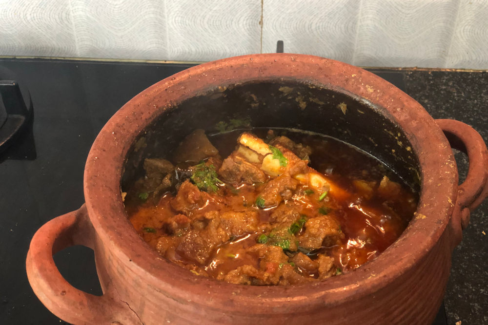 Photo of Pork Vindaloo at Chef Pushpa's home