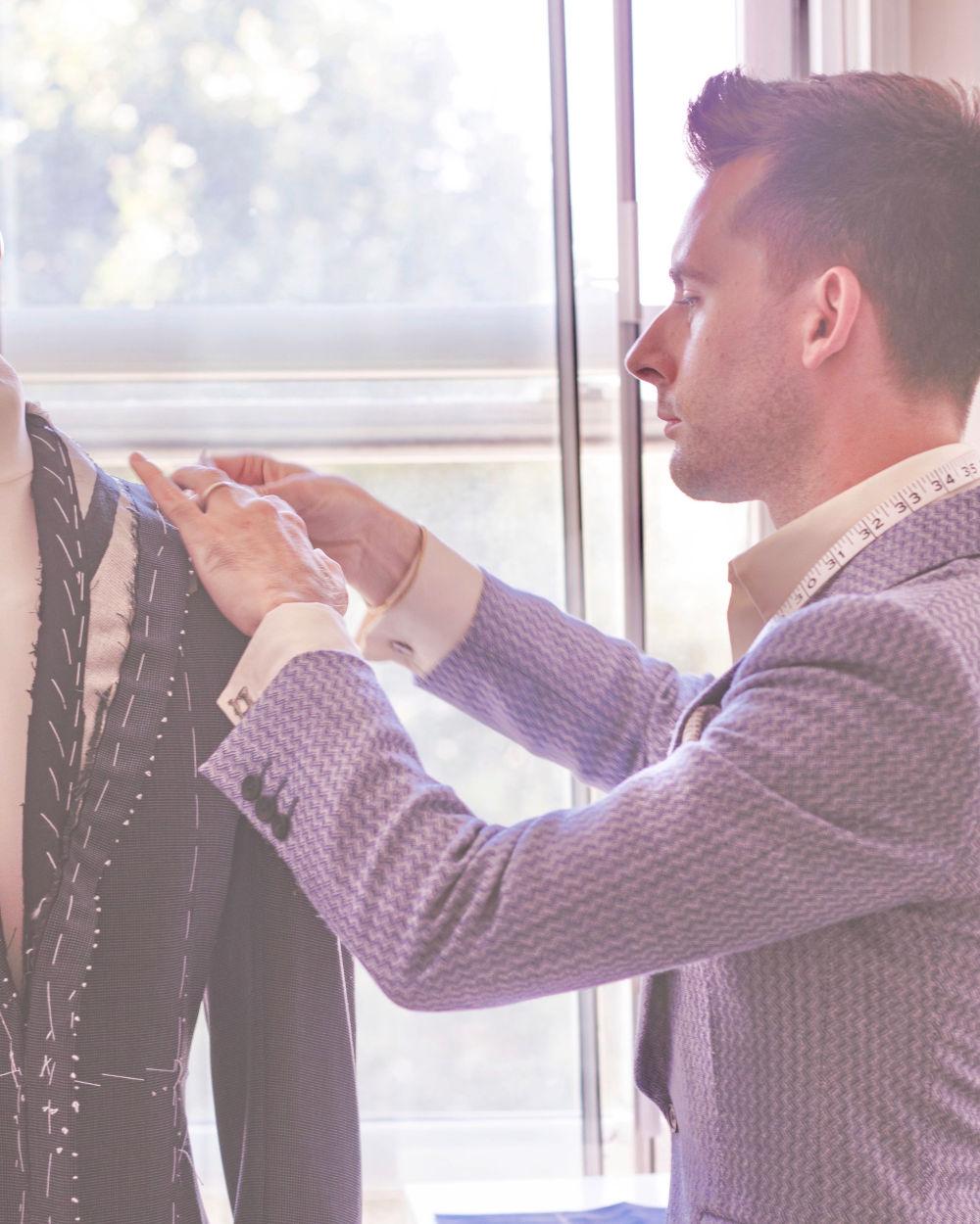 Bespoke tailoring experience at Pratt & Prasad
