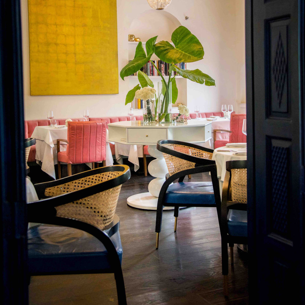 The cosy interiors inside Rooh