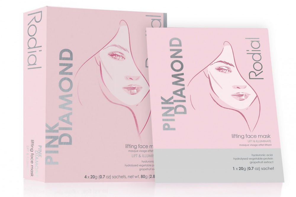 Pink Diamond Instant Lifting Face mask by Rodial