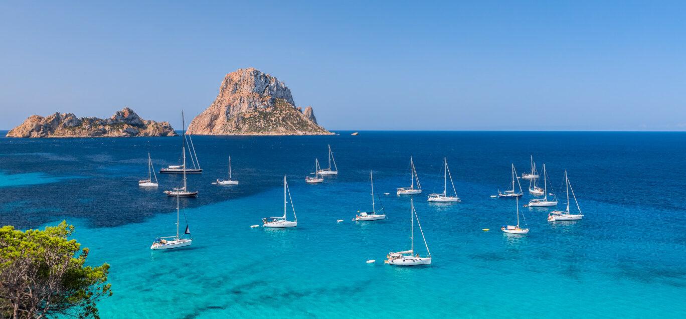 Beautiful views in Ibiza