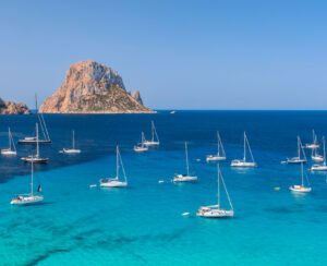 Beautiful views in Ibiza