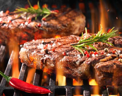 beef steaks BBQ