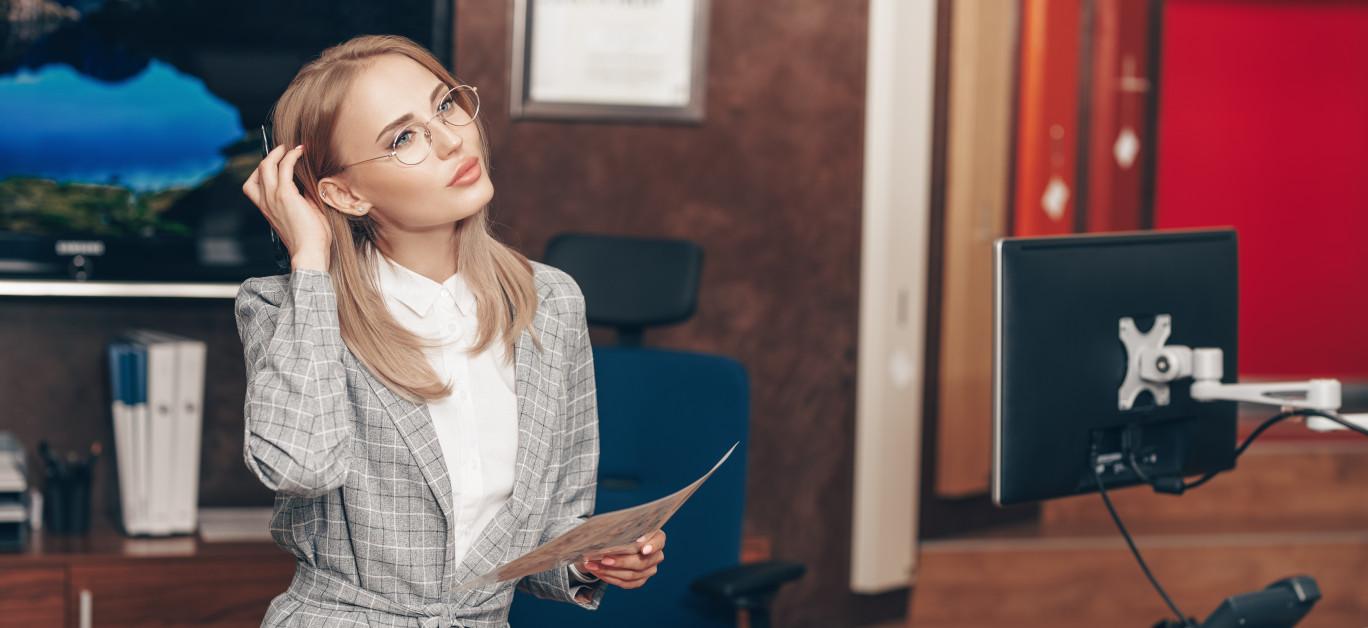 Women's corporate fashion
