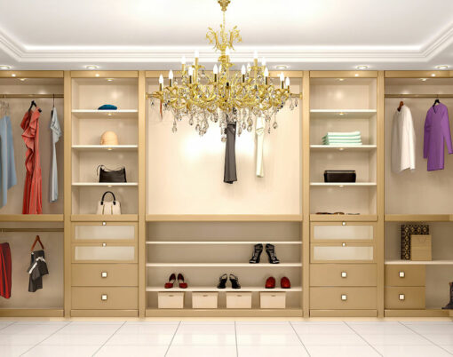 dressing room, walk in wardrobe