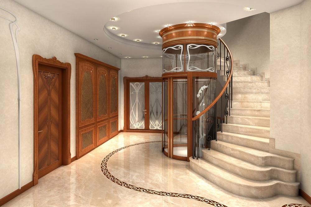 Elevator in a home