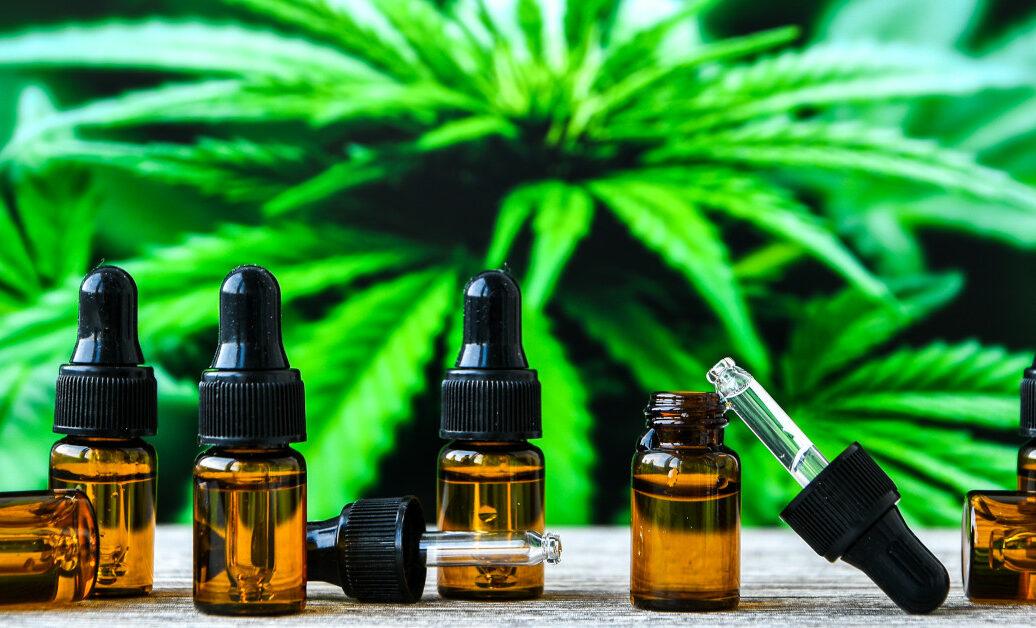 Hemp Cbd Oil Pipette, Marijuana Oil Bottle, Cannabis Extracts