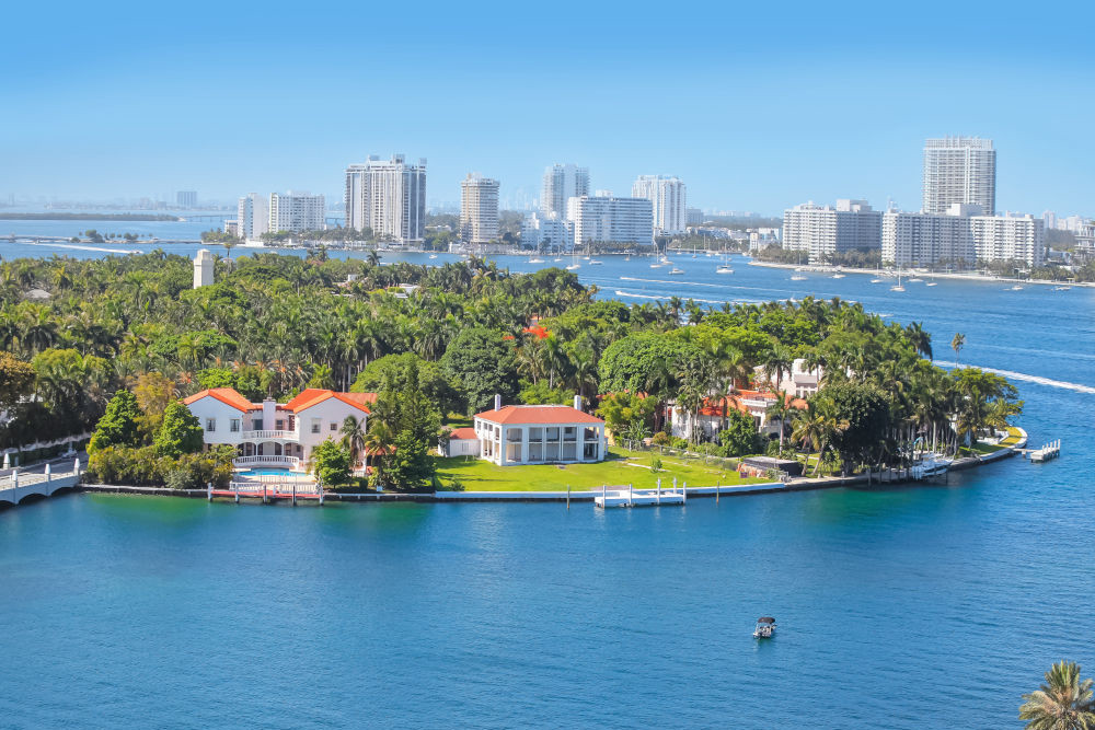 View of Florida houses