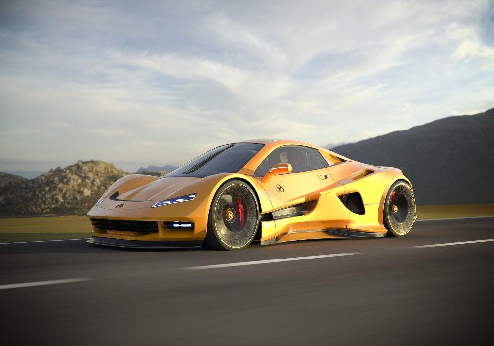 Luxury supercar