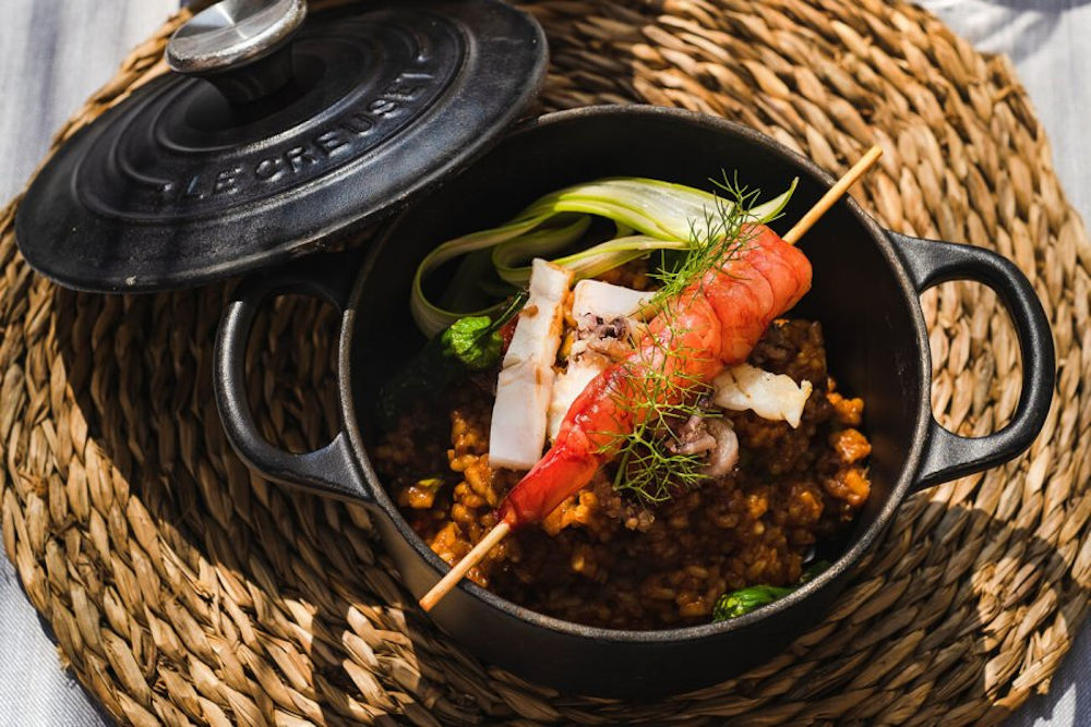 Sant Francesc Hotel Singular food