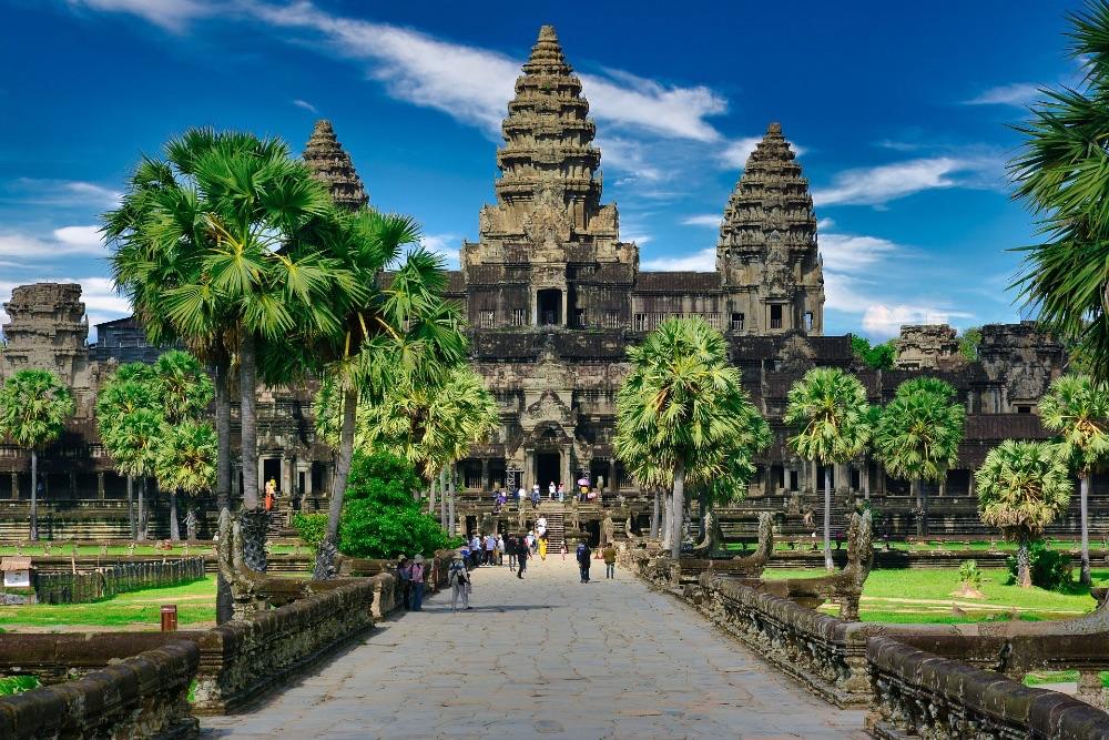 UNESCO World Heritage site of Angkor Wat