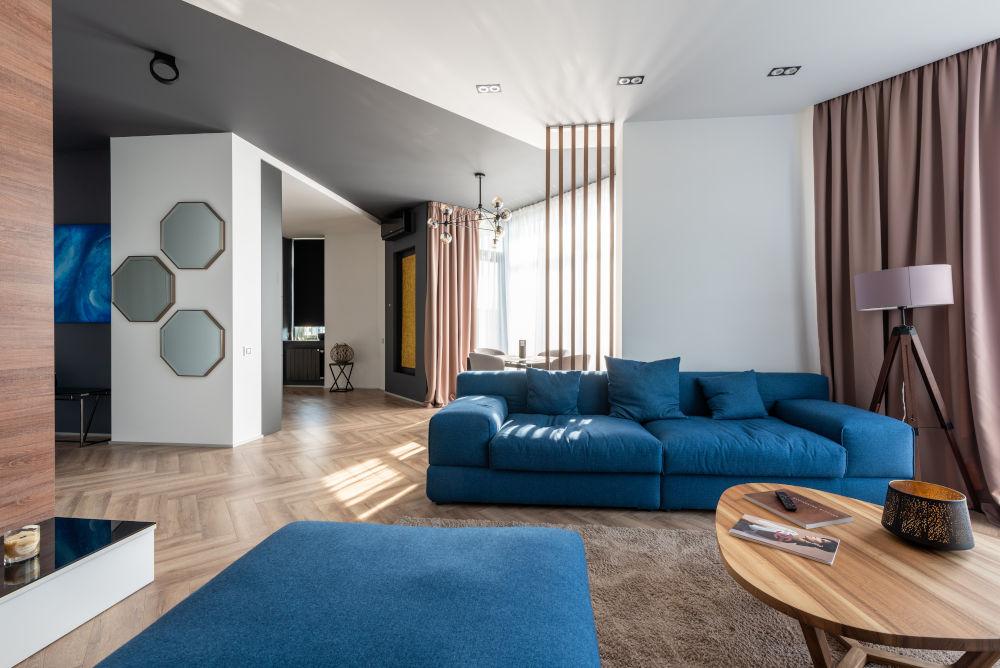 living room pexels