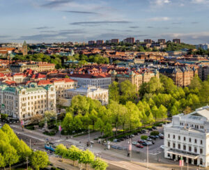 Gothenburg city view