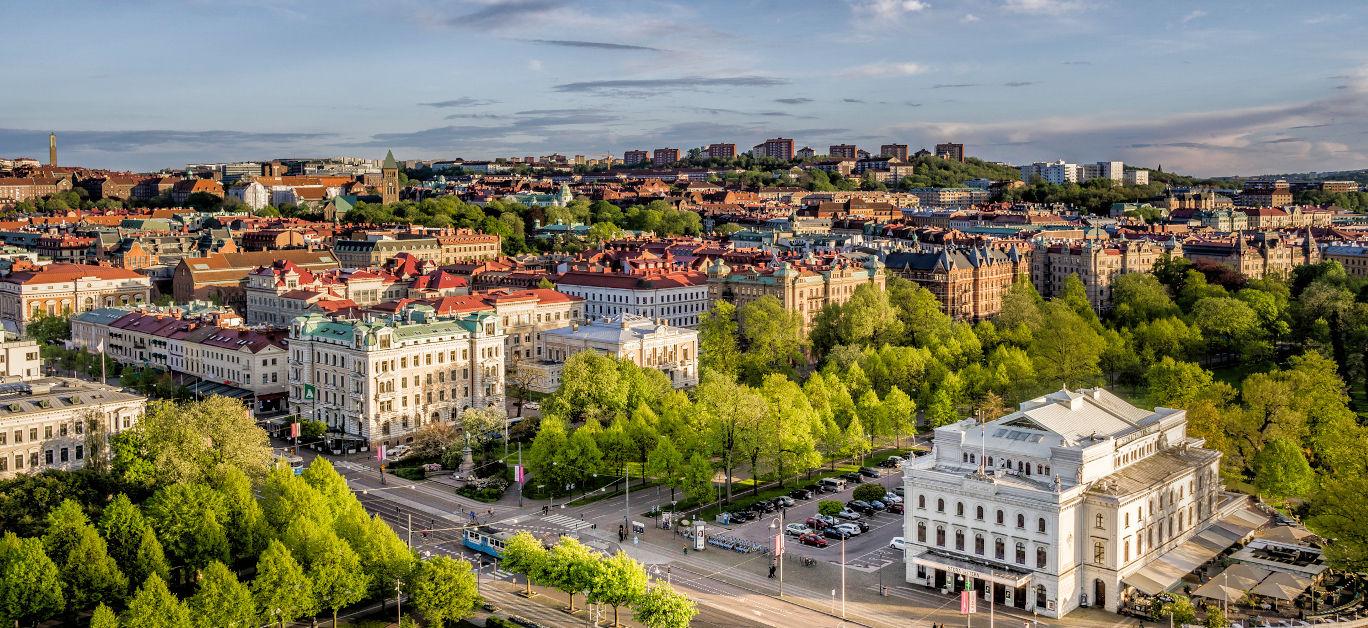 Gothenburg city view