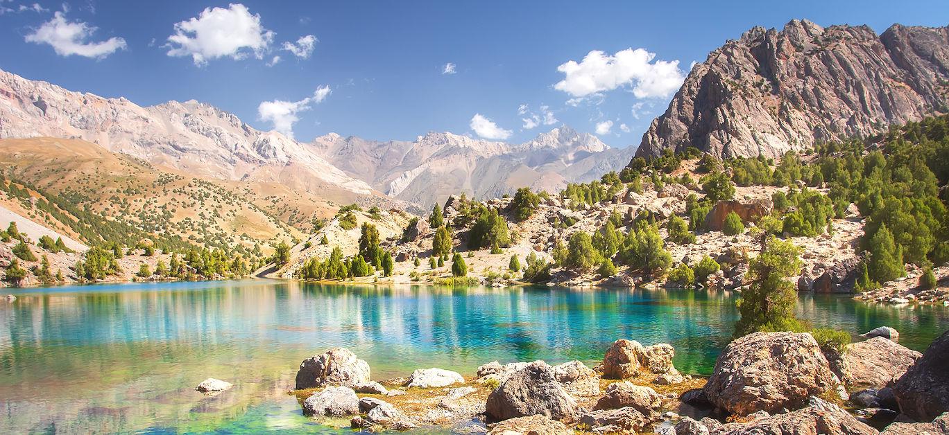 Tajikistan lake
