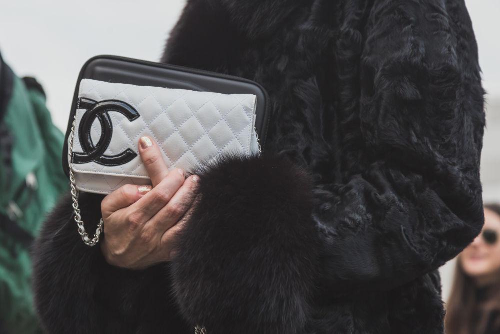Designer Chanel bag